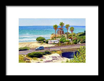 San Elijo Framed Prints