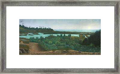 San Elijo Lagoon Framed Print