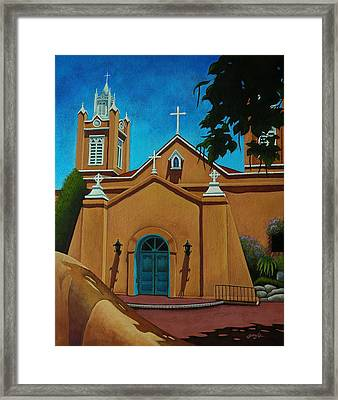 San Felipe De Neri Framed Print