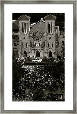 San Fernando Cathedral 002 Framed Print