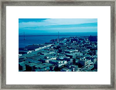 San Francisco 10 1955 Framed Print by Cumberland Warden