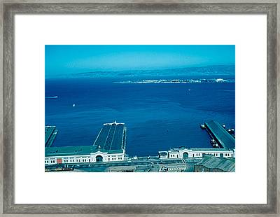 San Francisco 12 1955 Framed Print by Cumberland Warden