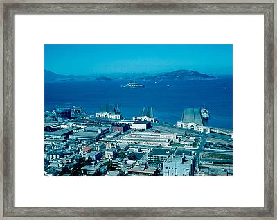 San Francisco 13 1955 Framed Print by Cumberland Warden