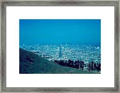 San Francisco 1955 Framed Print by Cumberland Warden
