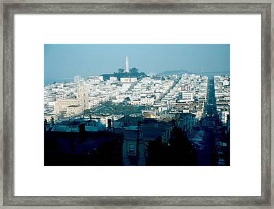 San Francisco 1956 Framed Print by Cumberland Warden