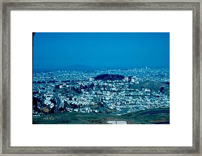 San Francisco 3 1955 Framed Print by Cumberland Warden