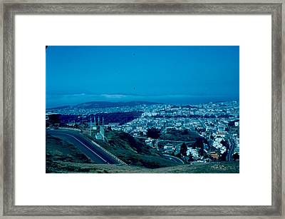 San Francisco 4 1955 Framed Print by Cumberland Warden