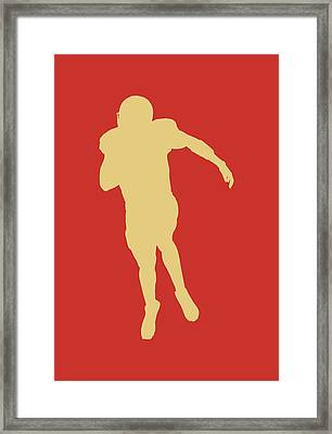 San Francisco 49ers Colin Kaepernick Framed Print