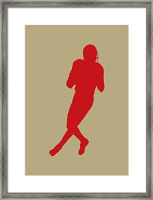 San Francisco 49ers Joe Montana Framed Print