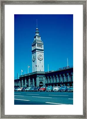 San Francisco 5 1955 Framed Print by Cumberland Warden