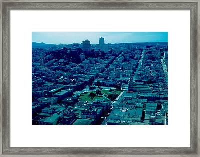 San Francisco 7 1955 Framed Print by Cumberland Warden