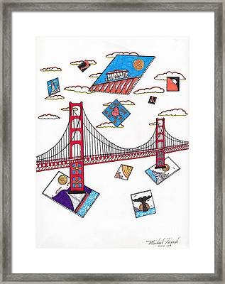 San Francisco Afloat Framed Print by Michael Friend