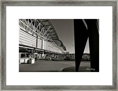 San Francisco Airport Framed Print by Alex King