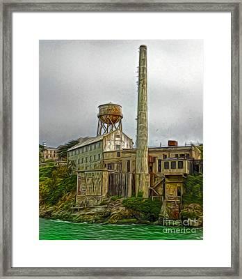 San Francisco - Alcatraz - 03 Framed Print by Gregory Dyer