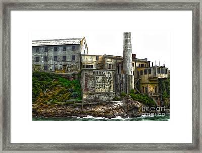 San Francisco - Alcatraz - 04 Framed Print by Gregory Dyer