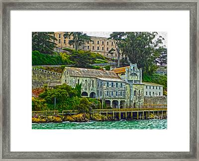 San Francisco - Alcatraz - 06 Framed Print by Gregory Dyer