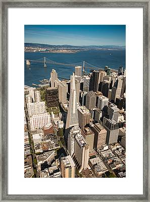 San Francisco Aloft Framed Print