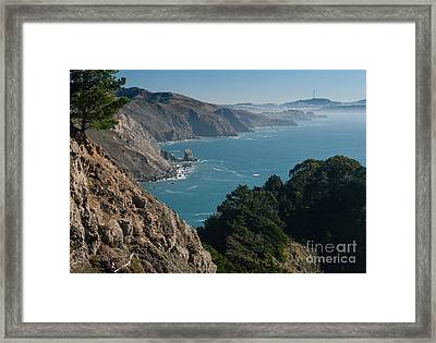 San Francisco Bay 2.2736 Framed Print by Stephen Parker