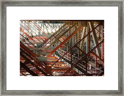 San Francisco Bay Bridge 1.6994 Framed Print