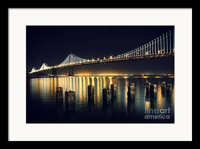 Night Time Sky Framed Prints