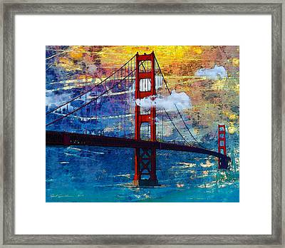 San Francisco Bridge Framed Print