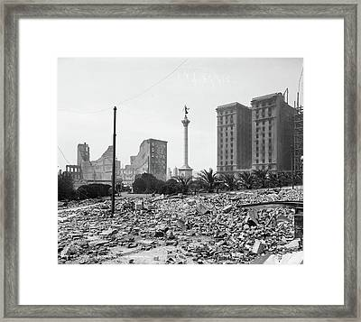 San Francisco, C1906 Framed Print