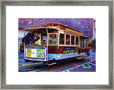 San Francisco Cable Car No. 17 Framed Print by Daniel Hagerman