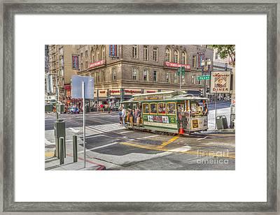 San Francisco Cable Car Framed Print