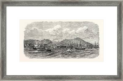San Francisco, California, From The Bay, United States Framed Print by American School