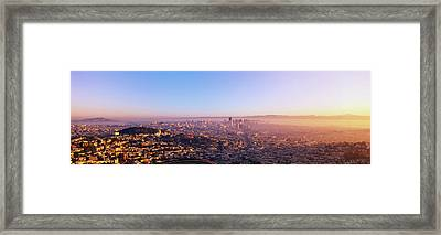 San Francisco, California Framed Print by Panoramic Images