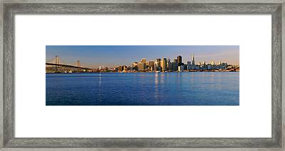 San Francisco, California Skyline Framed Print by Panoramic Images
