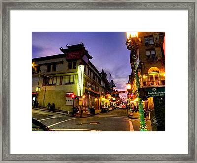 San Francisco - Chinatown 010 Framed Print by Lance Vaughn