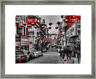 San Francisco - Chinatown 014 Framed Print by Lance Vaughn