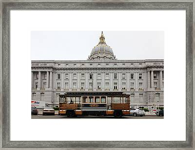 San Francisco City Hall 5d22475 Framed Print by Wingsdomain Art and Photography