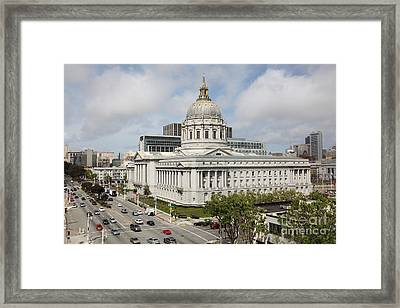 San Francisco City Hall 5d22505 Framed Print by Wingsdomain Art and Photography