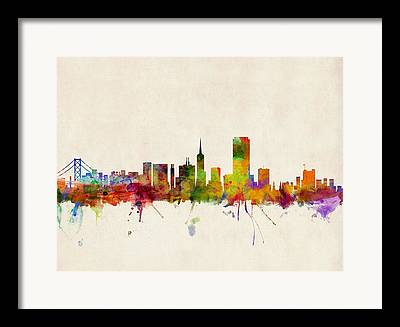 California Digital Art Framed Prints