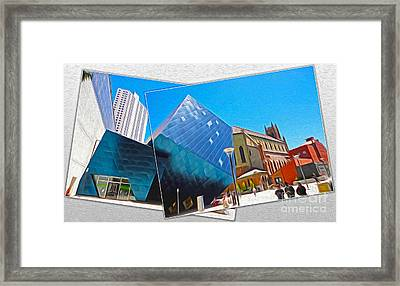 San Francisco - Contemporary Jewish Museum - 01 Framed Print by Gregory Dyer