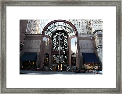 San Francisco Crocker Galleria - 5d20599 Framed Print