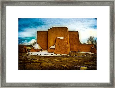 San Francisco De Asis Framed Print by Charles Muhle