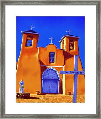 San Francisco De Asis Framed Print