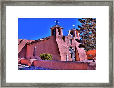 San Francisco De Asis Mission Church Framed Print by David Patterson