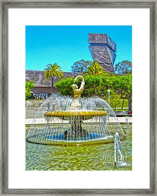 San Francisco - De Young Museum - 01 Framed Print by Gregory Dyer