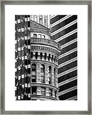 Framed Print featuring the photograph San Francisco Design by Art Shimamura