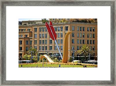 San Francisco Embarcadero Framed Print by YJ Kostal