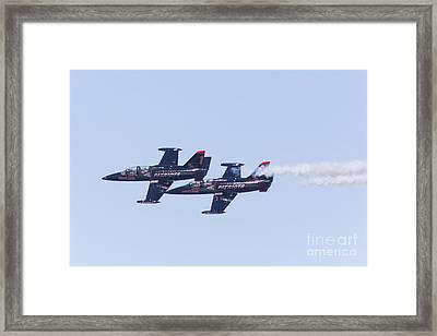 San Francisco Fleet Week Patriots Jet Team 5d29511 Framed Print