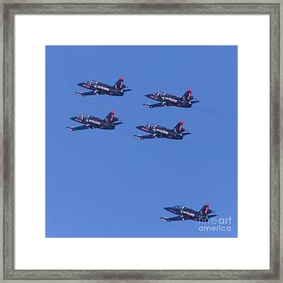 San Francisco Fleet Week Patriots Jet Team 5d29514 Framed Print