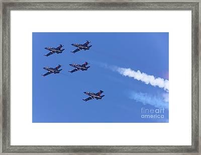 San Francisco Fleet Week Patriots Jet Team 5d29516 Framed Print