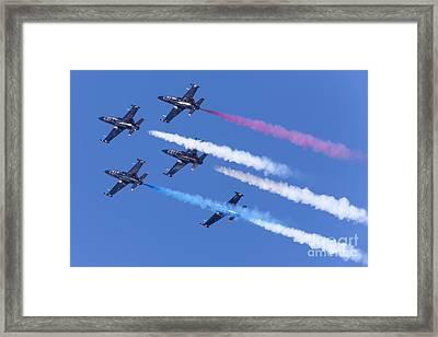 San Francisco Fleet Week Patriots Jet Team 5d29517 Framed Print
