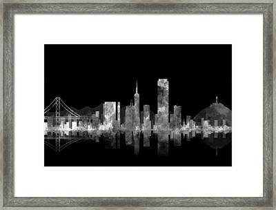 San Francisco Fog Framed Print by Daniel Hagerman