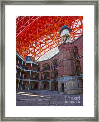 San Francisco - Fort Point - 02 Framed Print by Gregory Dyer